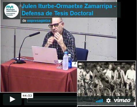 El vídeo de la defensa de la tesis