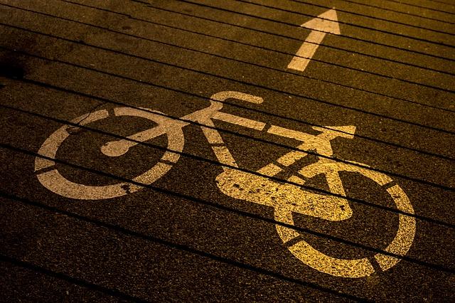 señal carril bici
